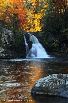 Abrams Falls. Great Smoky Mountains National Park, Tennessee; photo by Phillip Noll