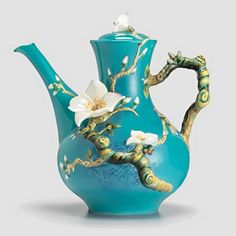 Franz Porcelain - Van Gough Almond Flower teapot (info from previous pinner, thank you)