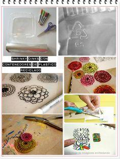 enrHedando: 430 Tutorials and Technical Ideas Shrinky Dinks Plastic