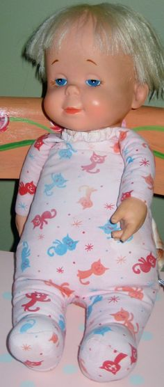 Drowsy doll early 1960's with vinyl hands