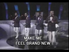 The Stylistics - You Make Me Feel Brand New. With Karaoke subtitles no less. Good luck hitting the high notes.