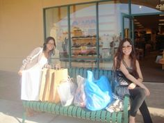 Outlet shopping at Camarillo.