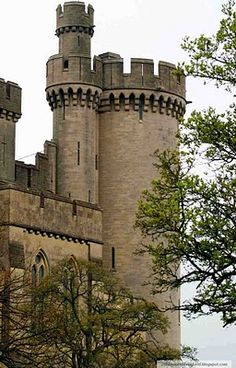 Arundel Castle in Arundel West Sussex, England - The ancient residence of the Duke and Duchess of Norfolk