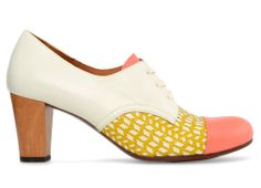 chie mihara - OSHARE- spring 2013  Those are CUTE!! Those colors!