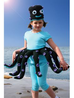 Fantasy Octopus Costume Pattern Pack