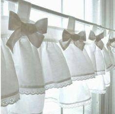 Делаем шторы-кафе или «бабушкино окно» — просто,стильно и уютно. (примеры) — В Курсе Жизни