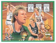 Larry Bird.....A Legend of the NBA...they don't make em' like him anymore!