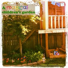 Happy Whimsical Hearts: A magical children's garden