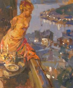 """Last Evening"" painting by Paul Hedley"