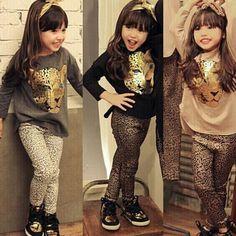 $13.30 (Buy here: https://alitems.com/g/1e8d114494ebda23ff8b16525dc3e8/?i=5&ulp=https%3A%2F%2Fwww.aliexpress.com%2Fitem%2FGirls-Clothes-Toddler-Girls-Clothing-Sets-Baby-Girls-Kids-Clothes-Children-Clothing-Full-Sleeve-T-Shirt%2F32693642338.html ) Girls Clothes Toddler Girls Clothing Sets Baby Girls Kids Clothes Children Clothing Full Sleeve T Shirt Leopard Legging Vestidos for just $13.30