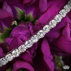 Diamond Tennis Bracelet with 59 A CUT ABOVE Diamonds