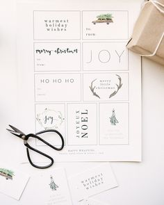 Printable Gift Tags from Mandi Nelson