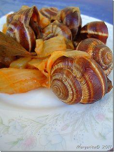 Syntages...apo spiti: Σαλιγκάρια στιφάδο