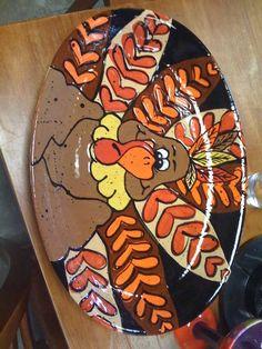 halloween pottery patterns | Via Stephanie Bailey