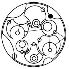 """""""Never Give Up, Never Give In"""" in Gallifreyan 