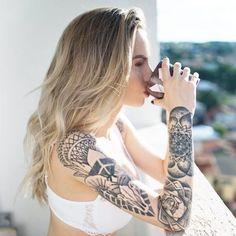 Tatuagem Feminina - Inspiração de Tatuagens Femininas para 2019