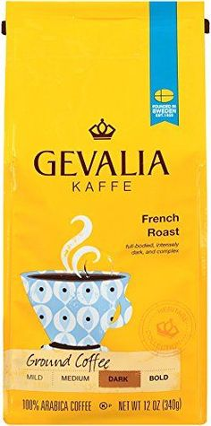 Gevalia French Roast Ground Coffee, 12 oz ** For more information, visit now   Fresh Groceries
