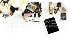 Styled stock photography | Product photography for small business | Marking photos for branding