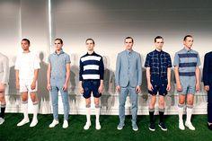 Carlos Campos coleccion primavera verano 2014 New York Fashion Week Gq, Coat, Jackets, Fashion, Fields, White Colors, Spring Summer, Down Jackets, Moda
