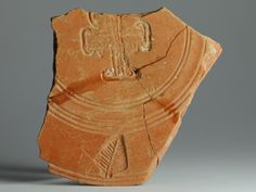 African red slip ware sherd Chi Rho 46