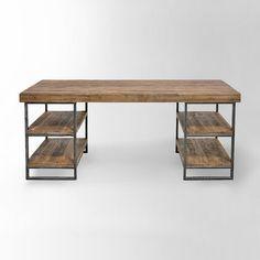 wood office desk. Hewn Wood Desk Office
