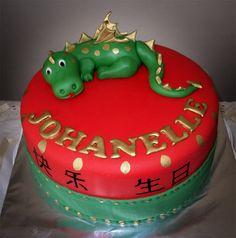 Delana's Cakes: Chinese Dragon Kiddie Cake
