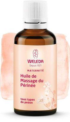 En savoir plus sur l'huile de massage du périnée Weleda