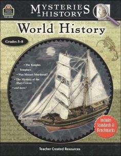 Mysteries in World history. The Ancient History book actually has King Arthur.