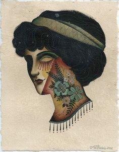 Woman Portrait by Aron Dubois