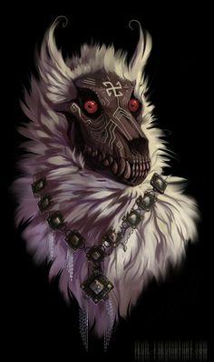 ideas for dark art drawings fantasy werewolves Mythical Creatures Art, Dark Creatures, Creature Drawings, Animal Drawings, Creepy Animals, Werewolf Art, Fantasy Beasts, Dark Art Drawings, Mystique