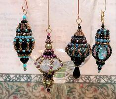 Kiowa Rose Beads Some beaded pendants