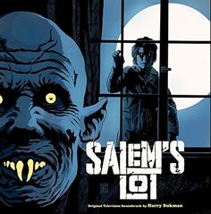 """brokehorrorfan: """"The soundtrack to Tobe Hooper's adaptation of Stephen King's Salem's Lot is now available on vinyl via Waxwork Records. The complete score, composed by Harry Sukman, has been. Horror Movie Posters, Horror Movies, Film Posters, 80s Movies, Scary Movies, Arte Horror, Horror Art, Soundtrack, Afterlife With Archie"""