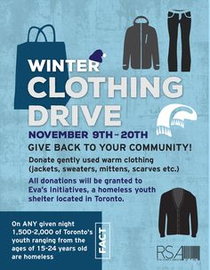 Image result for donate clothing examples of advertising Warm Outfits, Winter Outfits, Youth Shelter, Giving Back, Advertising, Memes, Clothing, Image, Hot Clothes