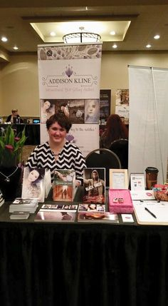 [July 25, 2015] Addison Kline at the Kiss and Tell author event.