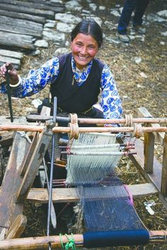 Tibetan weaver.