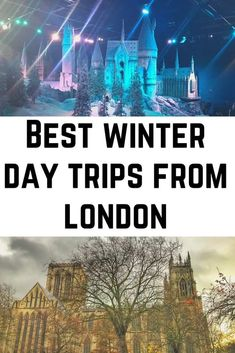 Best Winter Day Trips from London You Simply HAVE to Take! - Wandermust Family Backpacking Europe, Europe Travel Guide, Travel Guides, London Winter, London Christmas, Day Trips From London, Things To Do In London, Europe Destinations, Holiday Destinations