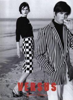 Stella Tennant in a 1995 Versus Versace campaign