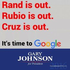 Gary Johnson Responds to Senator Ted Cruz's Withdrawal from GOP Nominating Contest