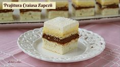 Prajitura Craiasa Zapezii cu crema de vanilie si ciocolata - 🥣 Lecturi s... Best Pastry Recipe, Pastry Recipes, Creme Caramel, Vanilla Cake, Easter, Desserts, Quinoa, Food, Tailgate Desserts