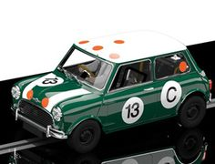 The Scalextric Classic Mini is part of the scalextric classic car collection a new release for This superb scalextric car has a detailed and realistic body shell, complete with working lights front and rear aswell as the standard magnatratio. Classic Mini, Classic Cars, Scalextric Cars, Model Shop, Work Lights, Slot Cars, Cute Baby Animals, Racing, Vehicles