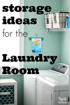 I figured out how to deal with my tiny laundry room, come check it out!