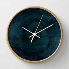 Afterlife Wall Clock by Oscar Tello Muñoz - $30.00