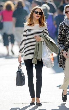Olivia & stripes