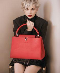 Louis Vuitton Capucines GM Red Top Handles #LV #LouisVuitton