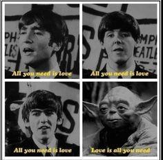 Master Yoda, el quinto beatle