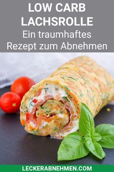 Low Carb Lachsrolle ohne Spinat - Traumhaftes Rezept zum Abnehmen - This low carb salmon roll is made fast and a healthy dinner for losing weight. Vegetarian Recipes Dinner, Healthy Breakfast Recipes, Easy Dinner Recipes, Healthy Dinner Recipes, Low Carb Recipes, Healthy Snacks, Easy Meals, Summer Recipes, Salmon Roll