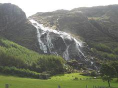 Gleninchaquin Park Waterfalls, Kenmare, Ireland [720x540][OC]