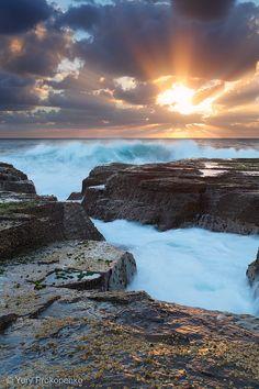 Sunrise at North Narrabeen, Sydney Northern Beaches, Australia