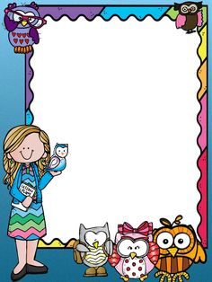 Binder Covers, Binder Cover Templates, School Border, Boarder Designs, Notebook Cover Design, Boarders And Frames, School Frame, School Murals, Easy Coloring Pages