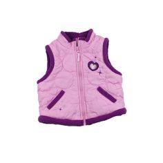 Please Mum Toddler Girls Fleece Lined Puffy Vest in Size 18 Months, $5
